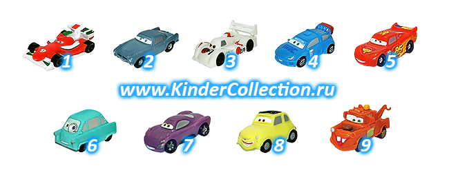 Тачки-2 - Disney Pixar Cars-2