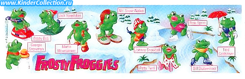 Английский BPZ к серии Frosty Froggies (1997)